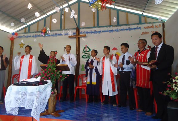 church opening ceremony